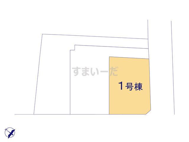 グラファーレ 千葉市黒砂台3期3棟の見取り図