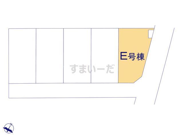 ハートフルタウン 越谷南荻島3の見取り図