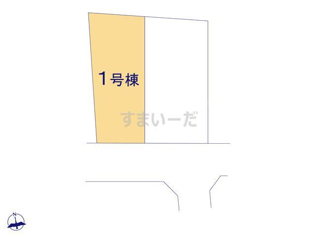 クレイドルガーデン 福島市笹谷 第4の見取り図