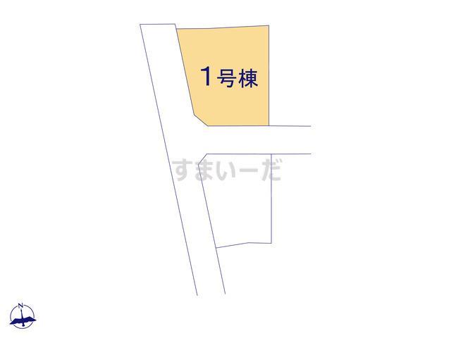 クレイドルガーデン 福島市松川町 第4の見取り図