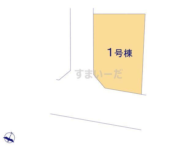 グラファーレ 春日部市藤塚8期1棟の見取り図