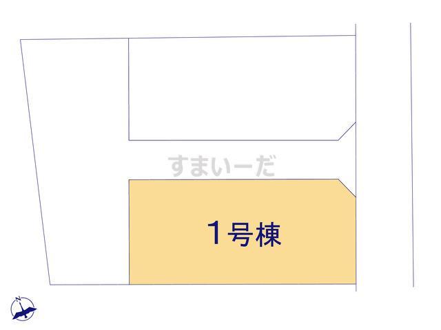 グラファーレ 沖縄市安慶田3棟の見取り図