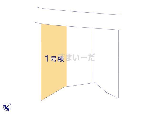 グラファーレ 八重瀬町新城3棟の見取り図