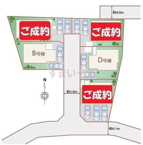 ハートフルタウン 八重瀬町東風平IIIの見取り図