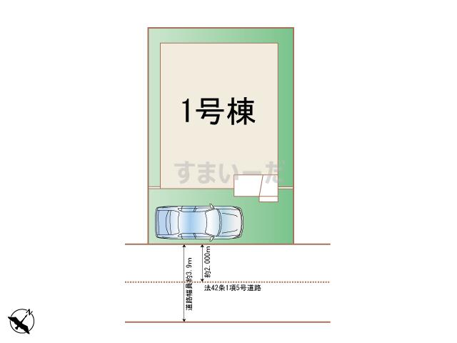 ハートフルタウン 宝塚寿町の見取り図