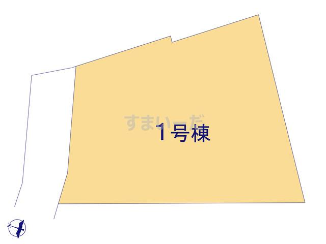 リーブルガーデン 香芝市穴虫2期の見取り図