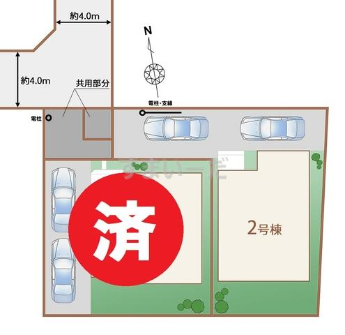 ハートフルタウン 小金井貫井北町3期の見取り図