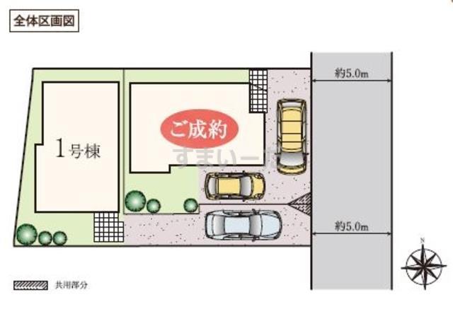 ハートフルタウン 日野栄町3丁目の見取り図
