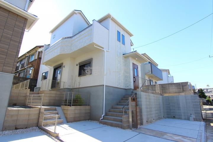 ブルーミングガーデン 福岡市東区和白丘4丁目3期2棟-長期優良住宅-の外観①