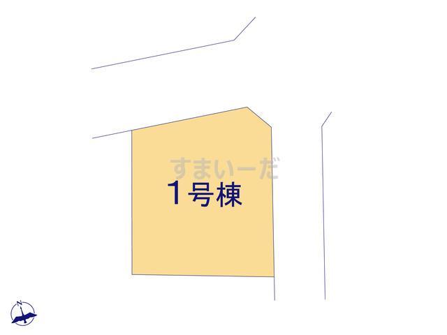グラファーレ 所沢市本郷2期1棟の見取り図