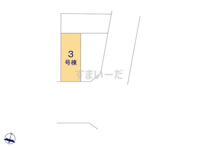 クレイドルガーデン 名古屋市名東区赤松台 第1の見取り図