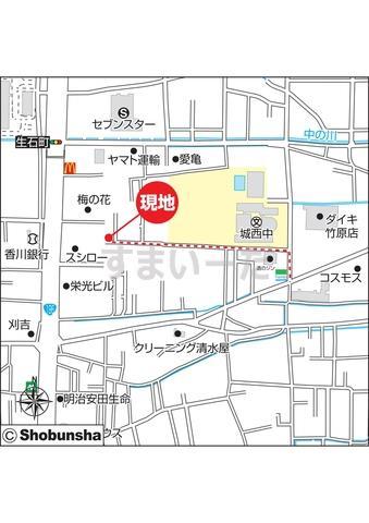 ハートフルタウン 竹原の見取り図