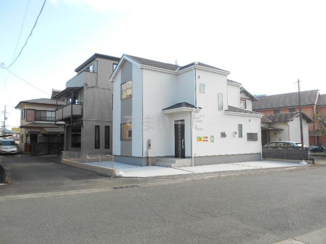 ハートフルタウン 富士松岡2期の外観①