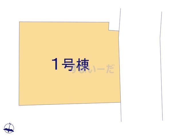 ハートフルタウン 八王子北野台2期の見取り図