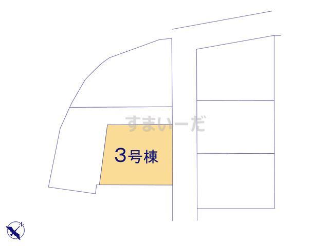 クレイドルガーデン 福岡市博多区西月隈 第4の見取り図