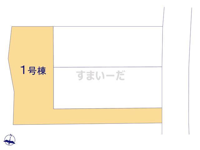 クレイドルガーデン 福岡市早良区干隈 第13の見取り図