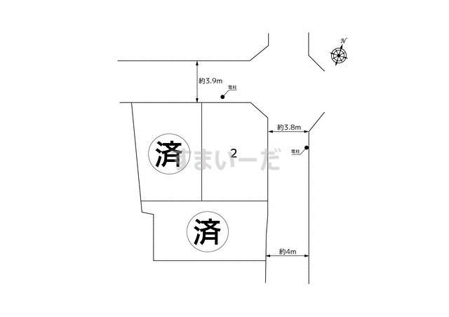 ハートフルタウン 菅城下267の見取り図