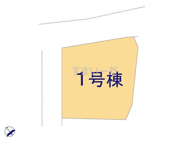 クレイドルガーデン 八戸市鮫町 第5の見取り図