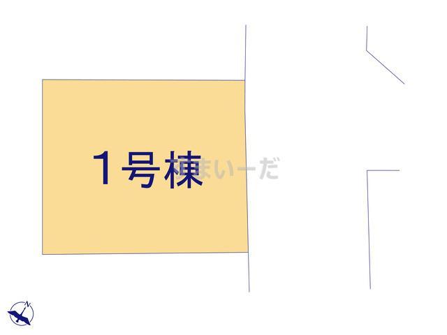 ハートフルタウン 所沢本郷3期の見取り図