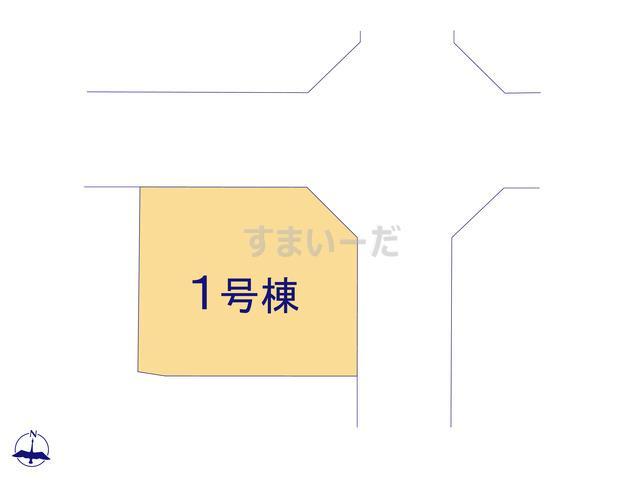 リーブルガーデン 三郷町城山台の見取り図