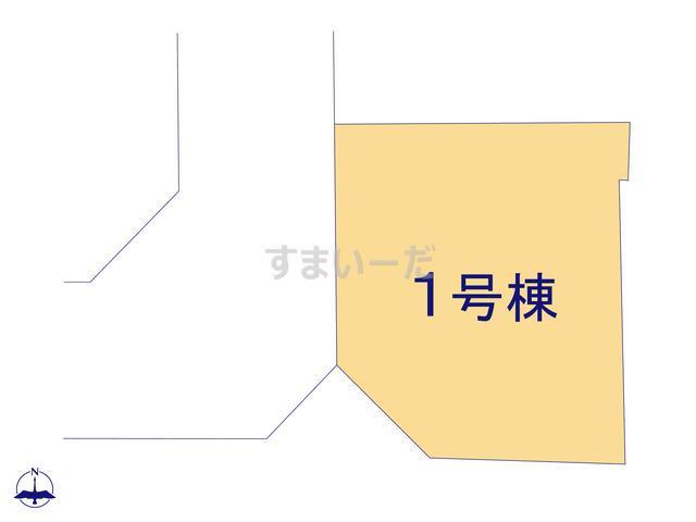 リーブルガーデン 香芝市鎌田3期の見取り図