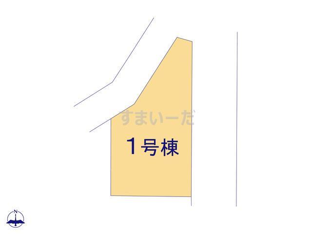 ハートフルタウン 所沢下安松16期の見取り図