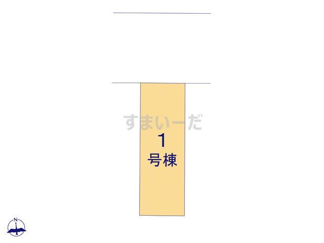ハートフルタウン 所沢中新井9期の見取り図