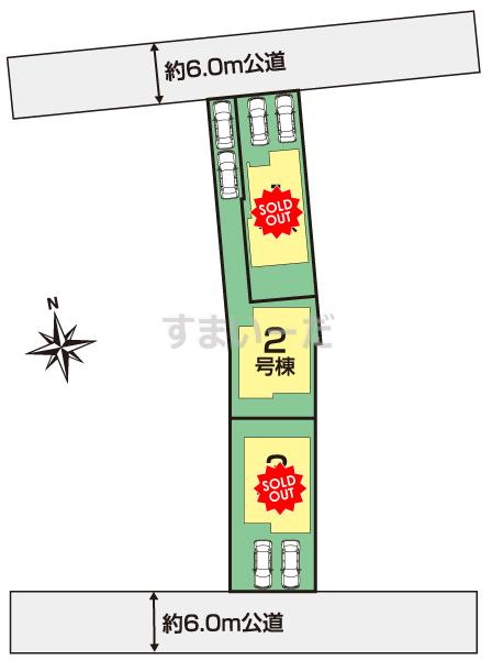 ブルーミングガーデン 春日井市穴橋町2丁目3棟の見取り図