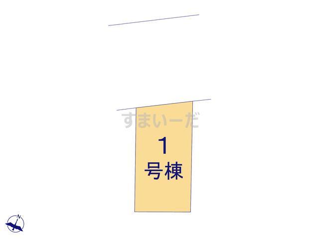 ハートフルタウン本八幡 江戸川区西葛西の見取り図