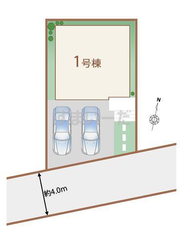ハートフルタウン 狭山ヶ丘22期の見取り図