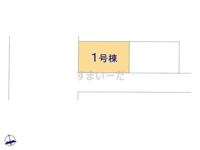 リーブルガーデン 江戸川松江8期の見取り図
