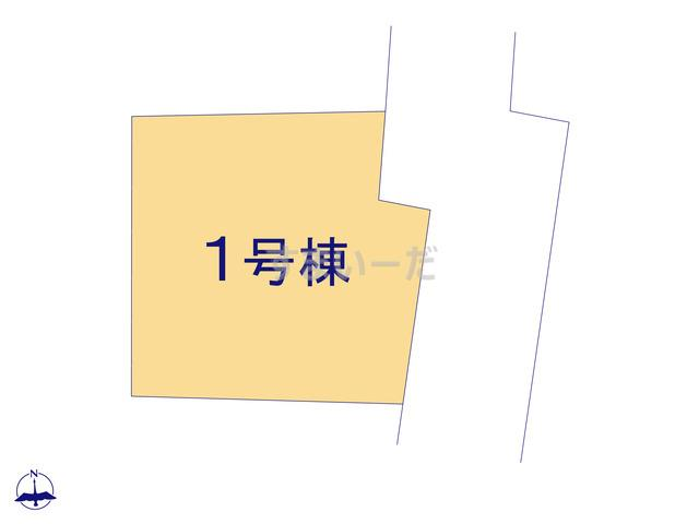 ハートフルタウン 第2期越谷市恩間の見取り図