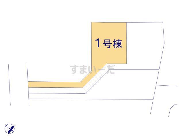 クレイドルガーデン 八戸市日計 第3の見取り図