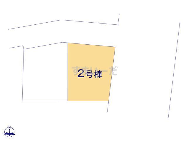 リナージュ 練馬区上石神井19-1期の見取り図
