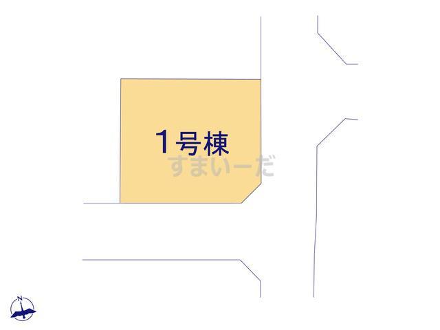 クレイドルガーデン 練馬区大泉町 第18の見取り図