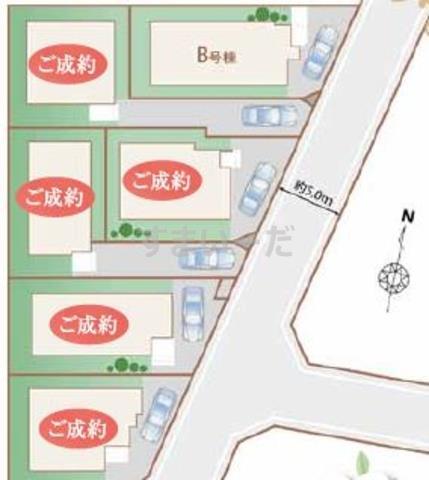 ハートフルタウン 練馬大泉学園町8丁目の見取り図