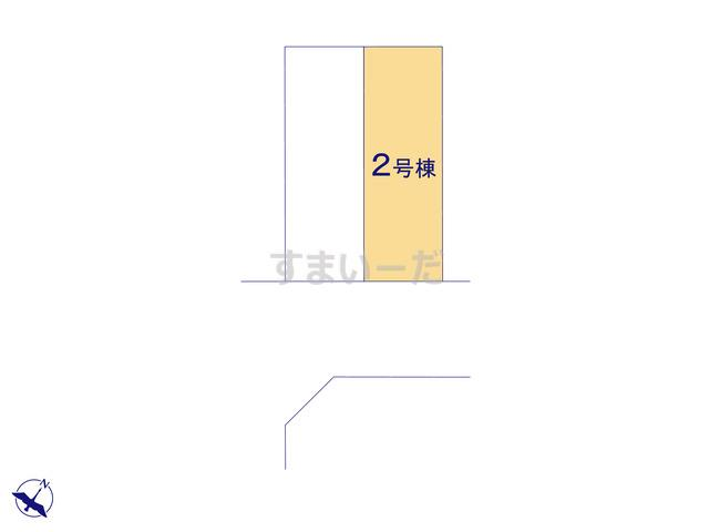 クレイドルガーデン 福岡市中央区福浜 第4の見取り図