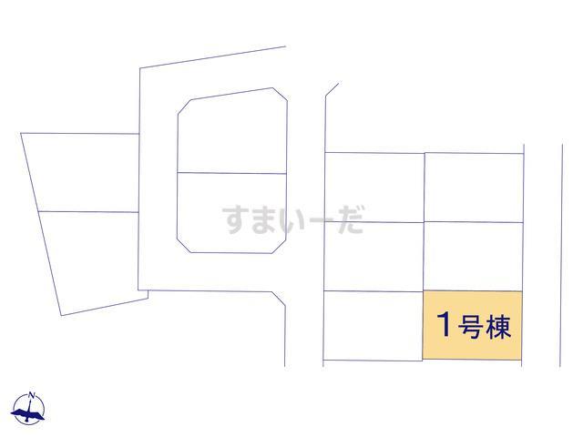 クレイドルガーデン 八戸市長苗代 第8の見取り図