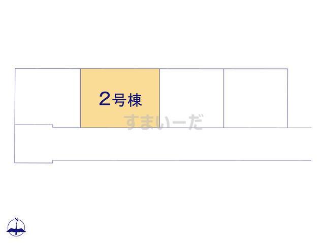 リーブルガーデン 田原本町阪手6期の見取り図