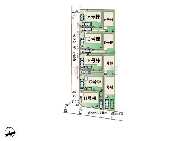 ハートフルタウン 杉並上高井戸2丁目II期の見取り図