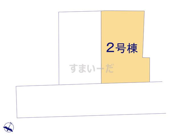 ハートフルタウン 大田区東馬込6期の見取り図