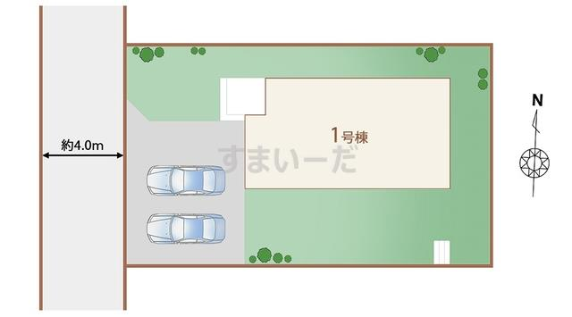 ハートフルタウン 仙台藤松の見取り図