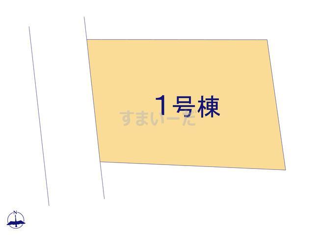 グラファーレ 千葉市大巌寺町2期1棟の見取り図