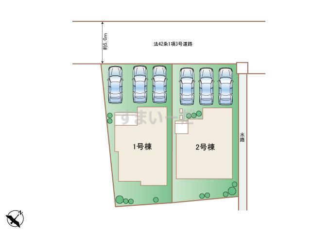 ハートフルタウン 沖縄市桃原IIの見取り図