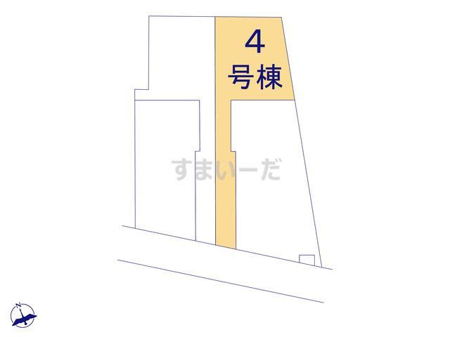 リーブルガーデン 勝田台駅の見取り図
