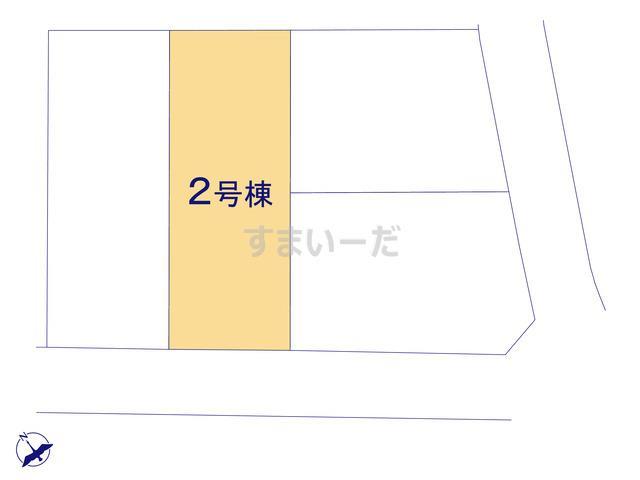 リーブルガーデン 北区龍田第二の見取り図