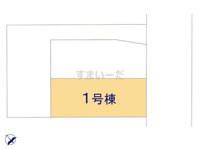 クレイドルガーデン 八戸市石堂 第6の見取り図