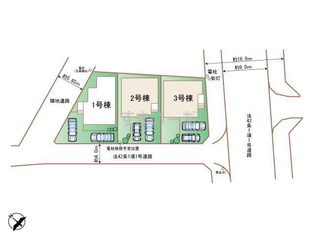 ハートフルタウン 相模原市中央区淵野辺本町1丁目207番の見取り図