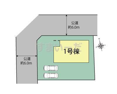ブルーミングガーデン 札幌市北区篠路4条2丁目-長期優良住宅-の見取り図