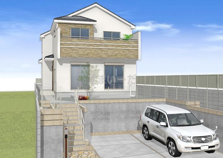 ブルーミングガーデン 福岡市中央区笹丘1丁目1棟-長期優良住宅-の外観①